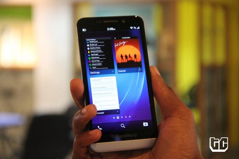 Blackberry z30 multitasking