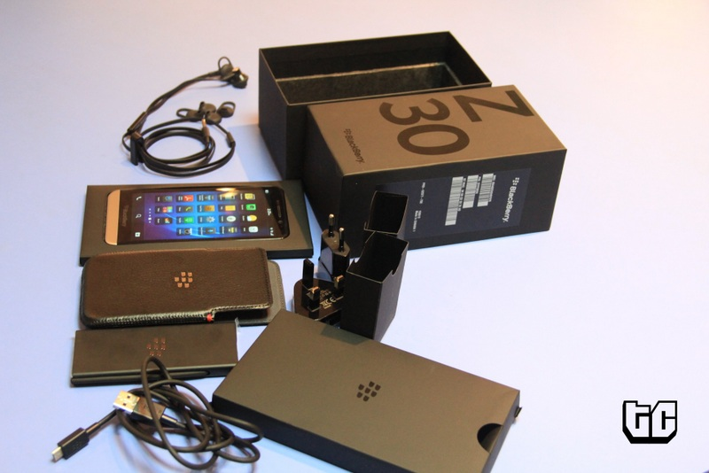 Blackberry z30 unboxing