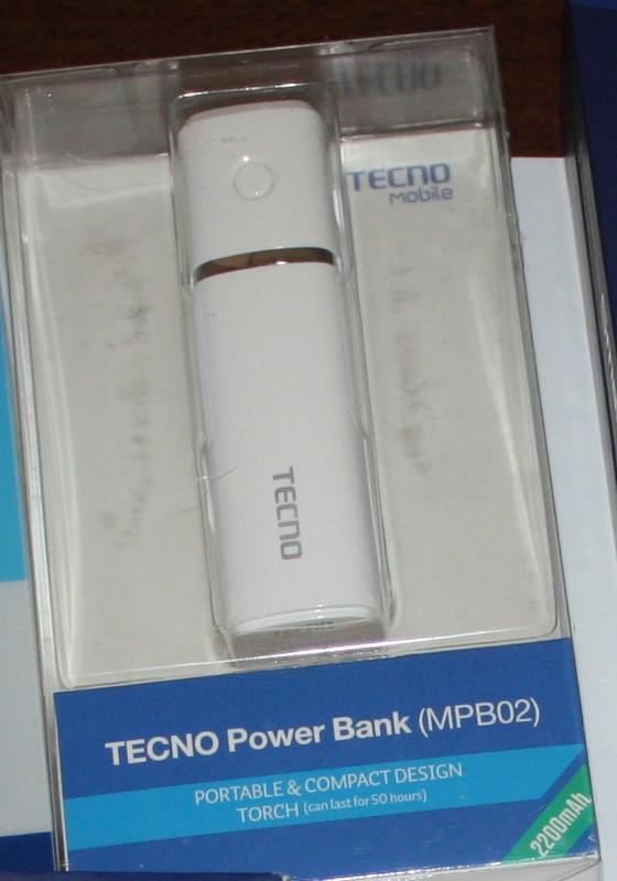 Tecno Power Bank