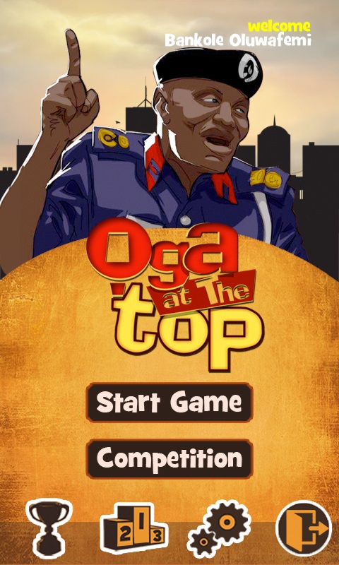 oga at the top two
