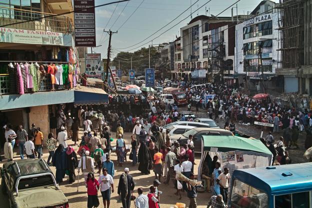 kenya town