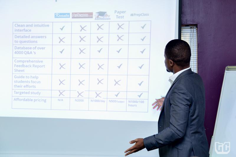 Demo Day_10- Olumide Ogunlana pitching PrepClass
