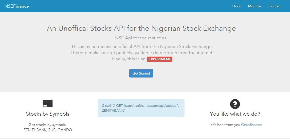 Understanding the NSE Finance API: A Q&A with Celestine Omin