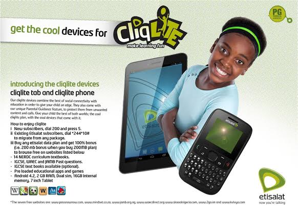 Etisalat Launches Tablets And Phones For Kids