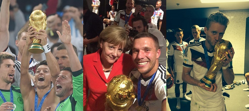 How Germany's World Cup Victory Played Out On Twitter