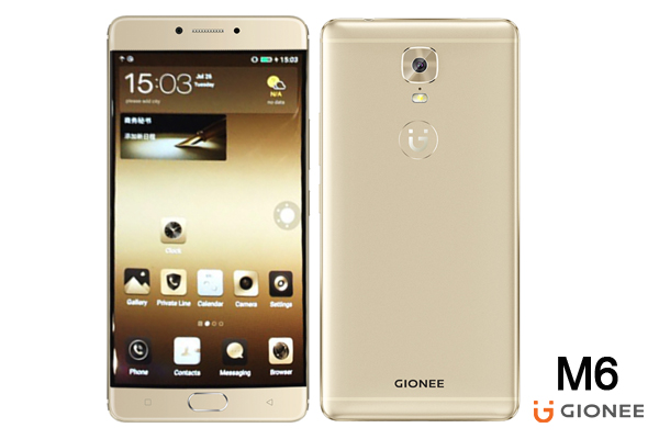 Gionee M6 phone -Source: TechCabal