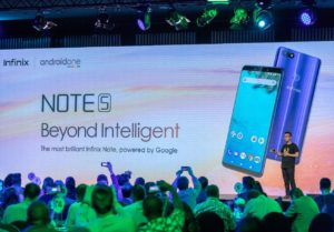 "Infinix Unveils ""Beyond Intelligent"" Device Note 5 Powered by Android One"