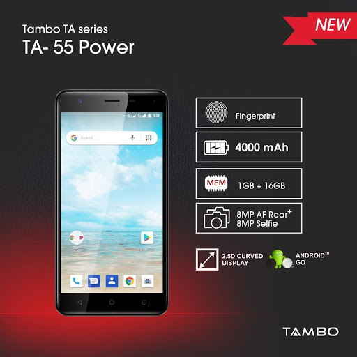Tambo TA 55 Price, Spec, and Availability | Kara Nigeria Online