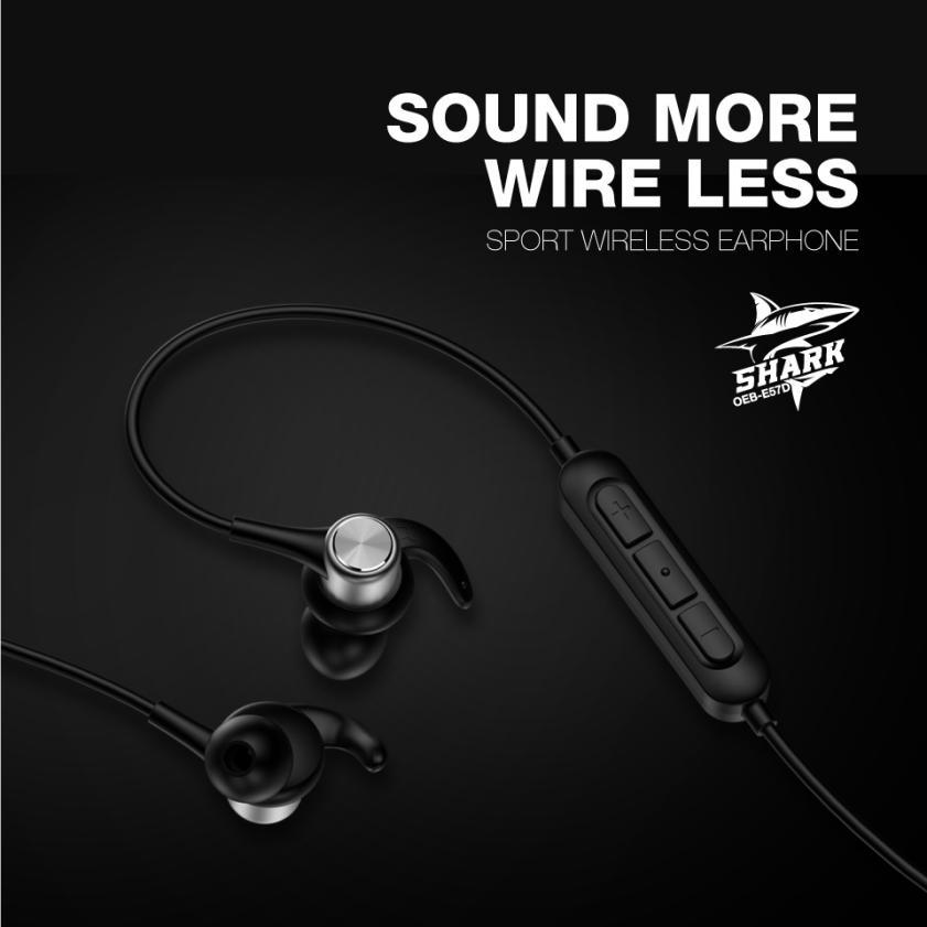 6b9d48d7adc These features are part of what gave this Sound More wireless earphone the  name SHARK!