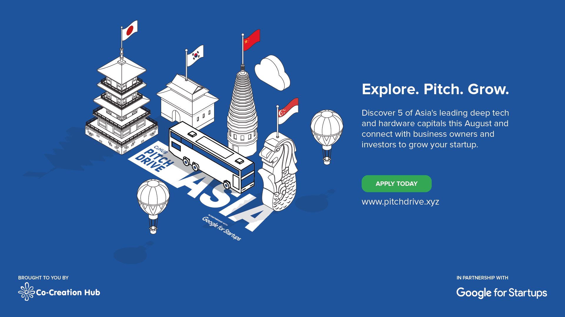 Join CcHUB and Google for Startups on a Deep Tech Tour of Asia