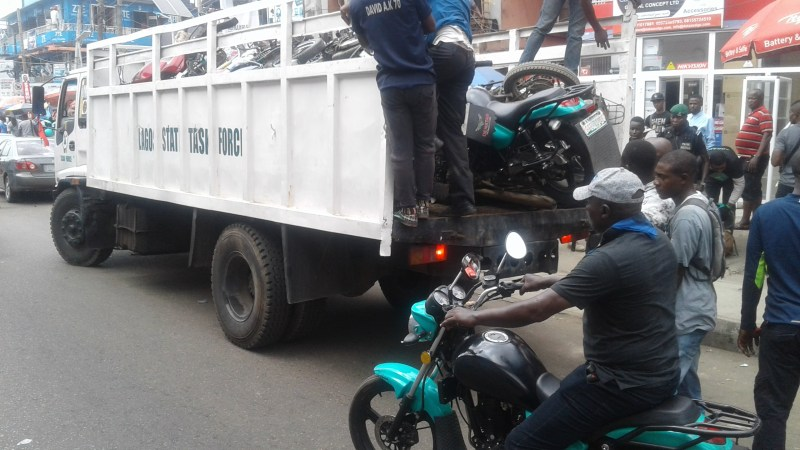 Lagos State is Considering a N25m Annual License for Bike Hailing Startups