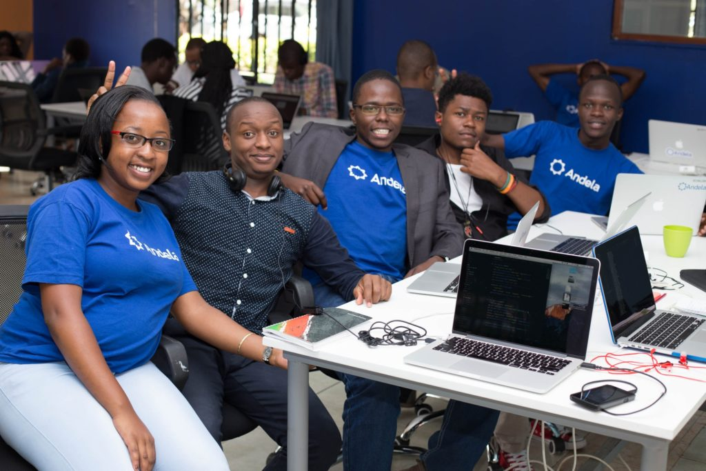 Andela has distributed teams in 4 African countries