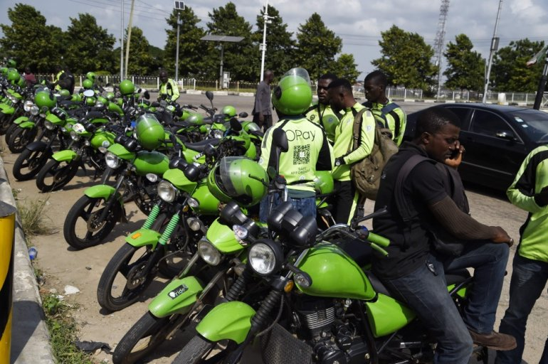 The police in Lagos State have impounded a number of bikes recently. Can you guess how many?