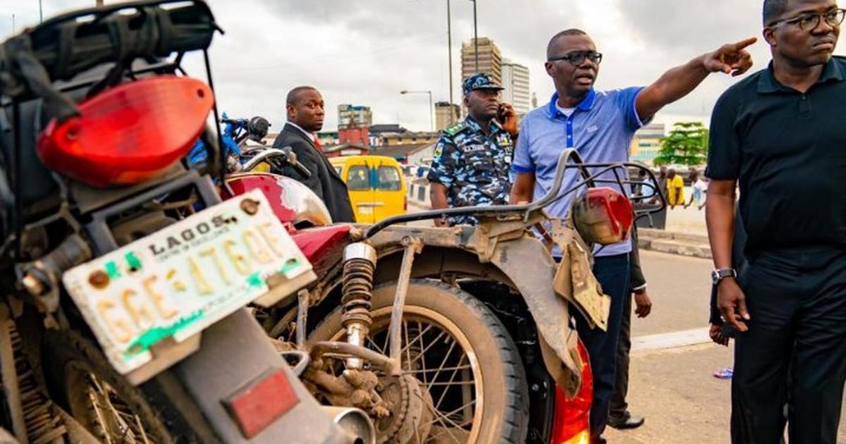 The Lagos ban on motorcycles and tricycles is not solving any real problems