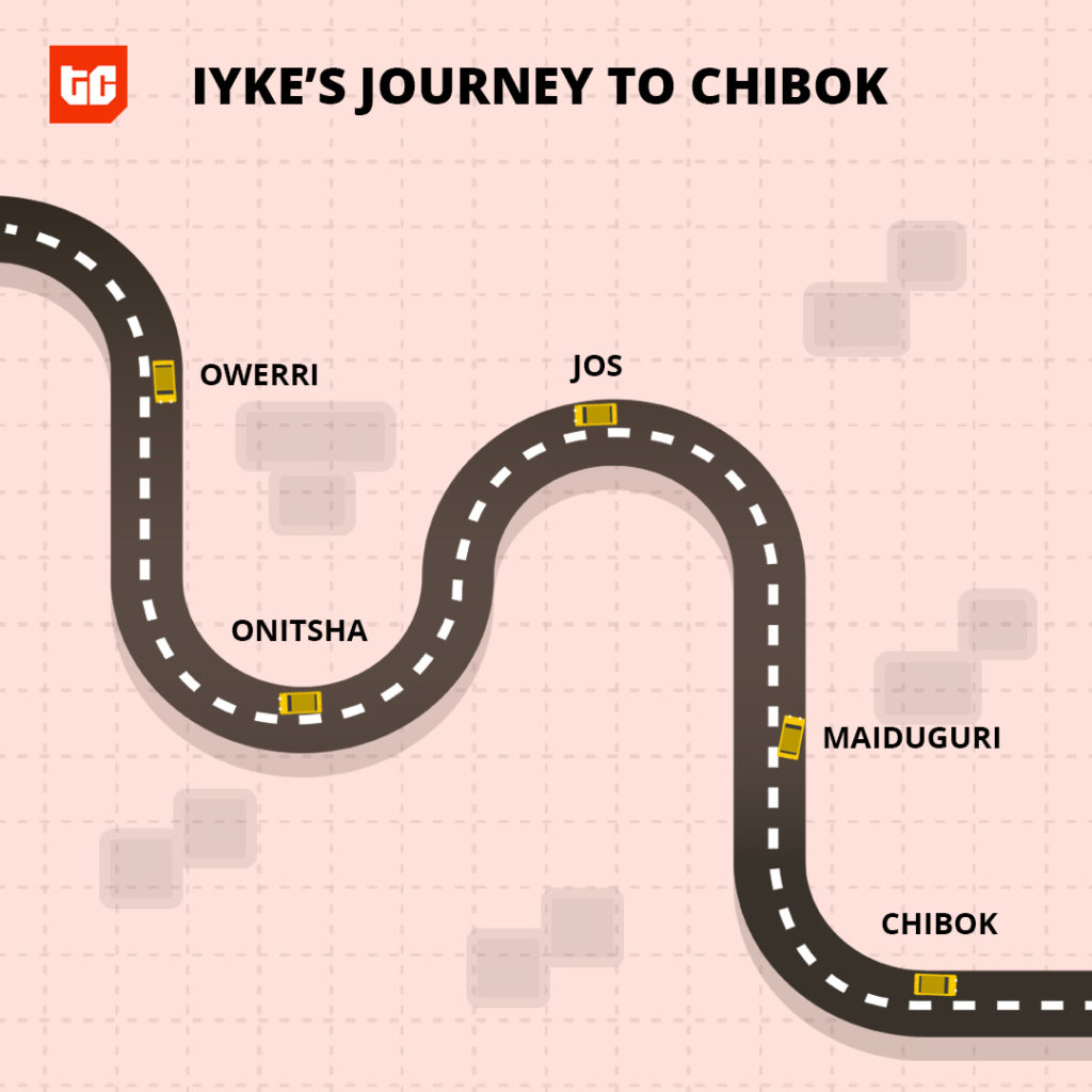 Iyke's journey to Chibok