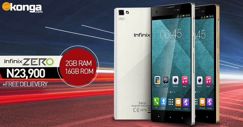 Infinix Zero 16GB Internal / 2GB RAM Version Now Available For Purchase