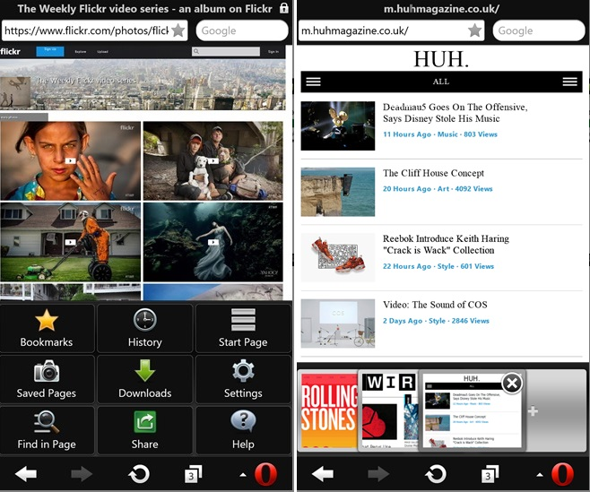 opera mini windows phone download