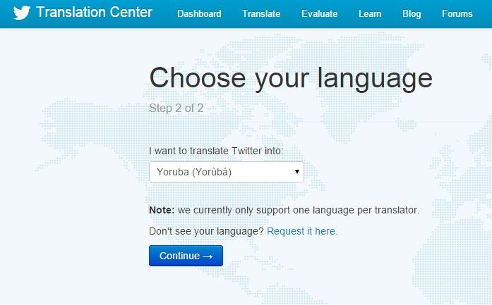 Twitter Translation Center - Yoruba