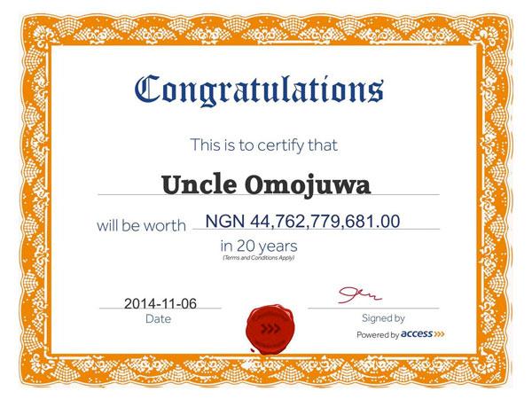 access-certificate