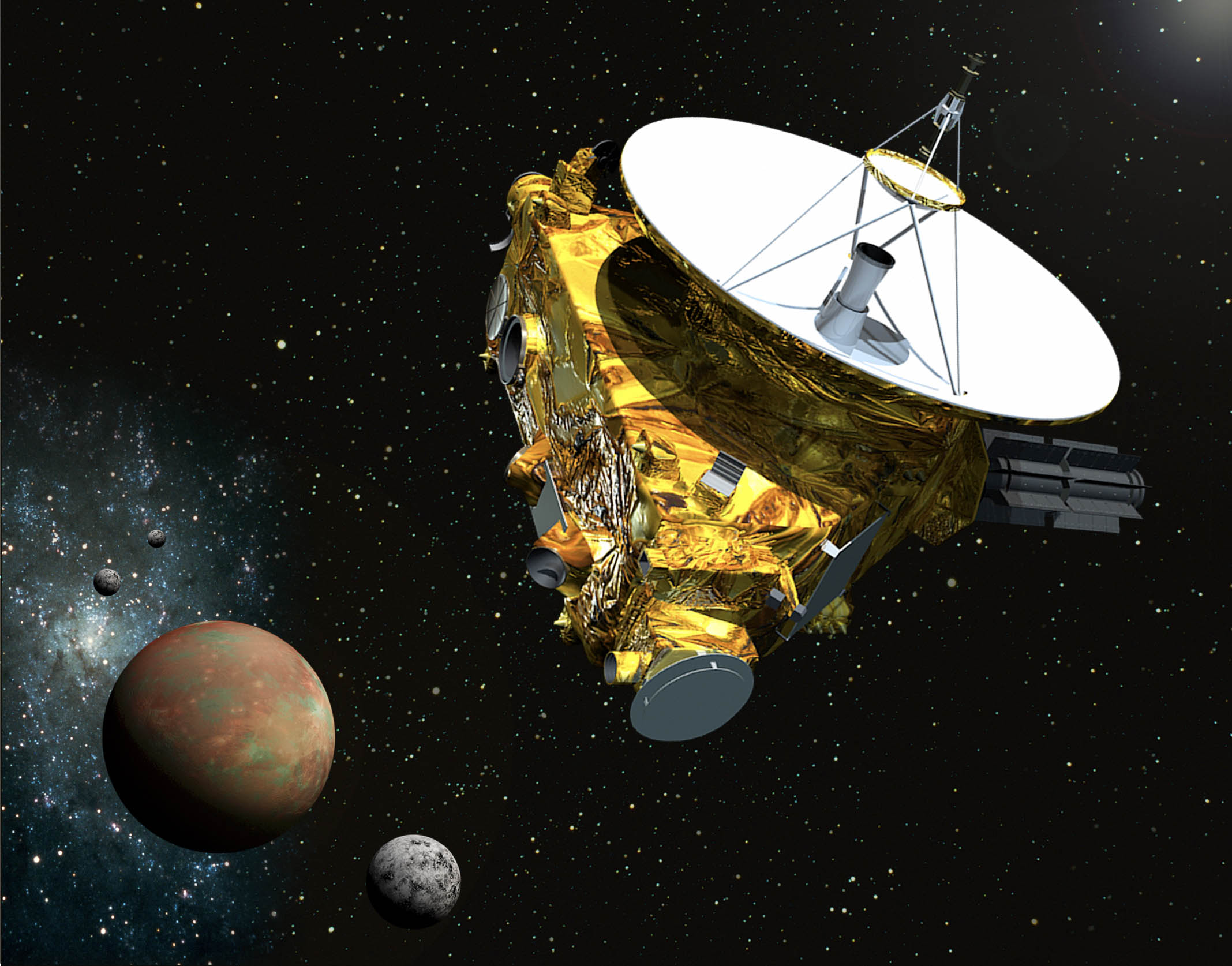 Playstation's Processor MIPS R3000 CPU Guides Space Probe To Pluto.