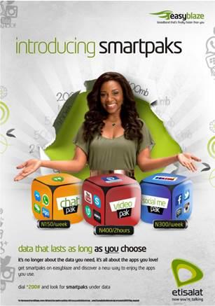 Etisalat smartpaks