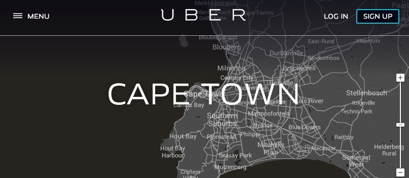 Local Police Impound Uber Cabs In Capetown