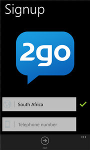 2go messaging app is now available for Windows Phone.