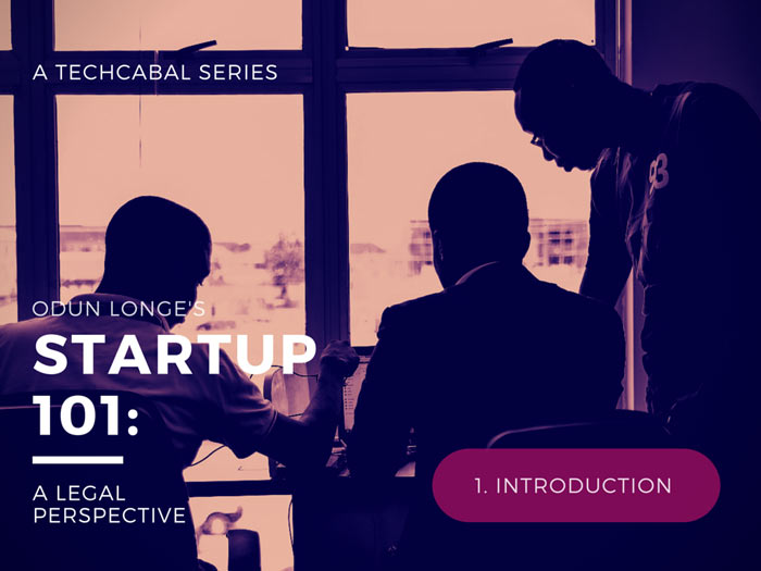 Startup 101: First Of All, Introduction