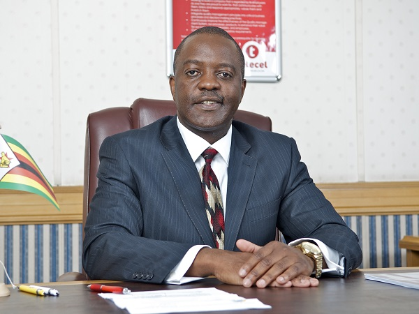 Telecel-Zimbabwe-communications-and-branding-director-Obert-Mandimika
