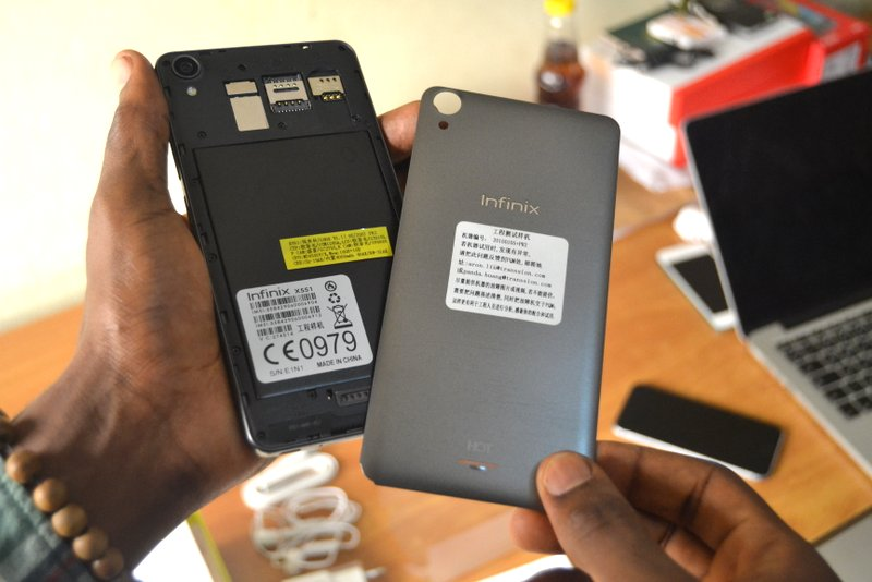 Battery of Infinix Note 2