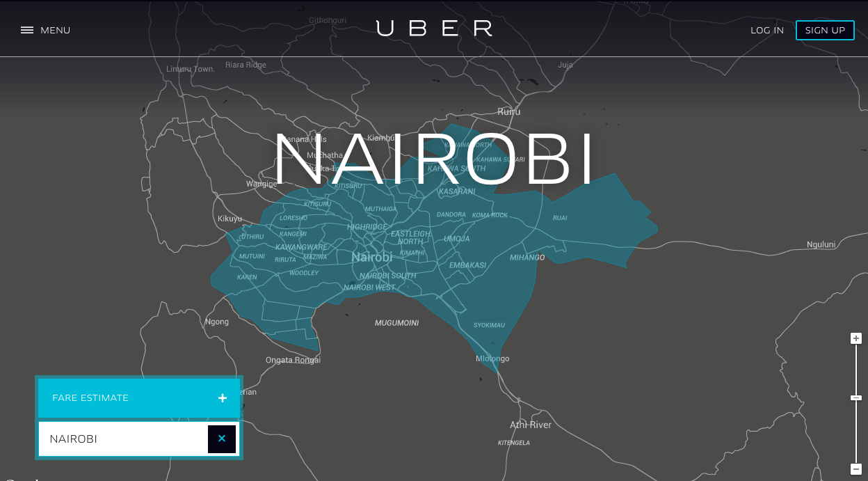 "Uber Launches ""Uber for Business"" in Nairobi, Kenya"