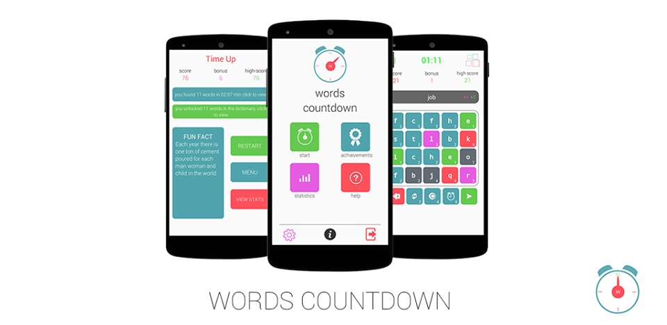 WordsCountdown Is A Boggle and Scrabble Mashup