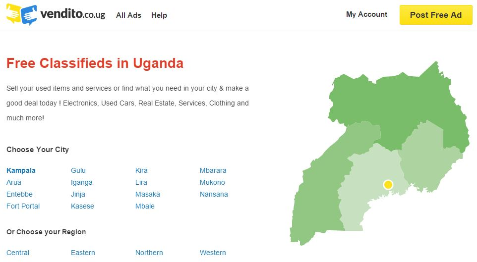 Rocket Internet's Online Classifieds Site, Vendito Opens in Senegal, Uganda and Tanzania