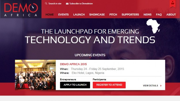 Applications Deadline For 2015 DEMO Africa Has Been Moved To June 30