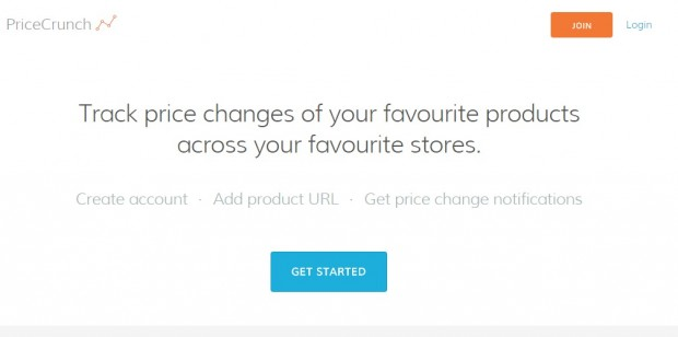 PriceCrunch Lets You Track Price Changes on Your Favourite Online Stores