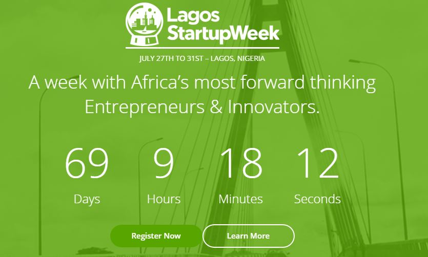 2015 Lagos StartupWeek is 69 Days Away