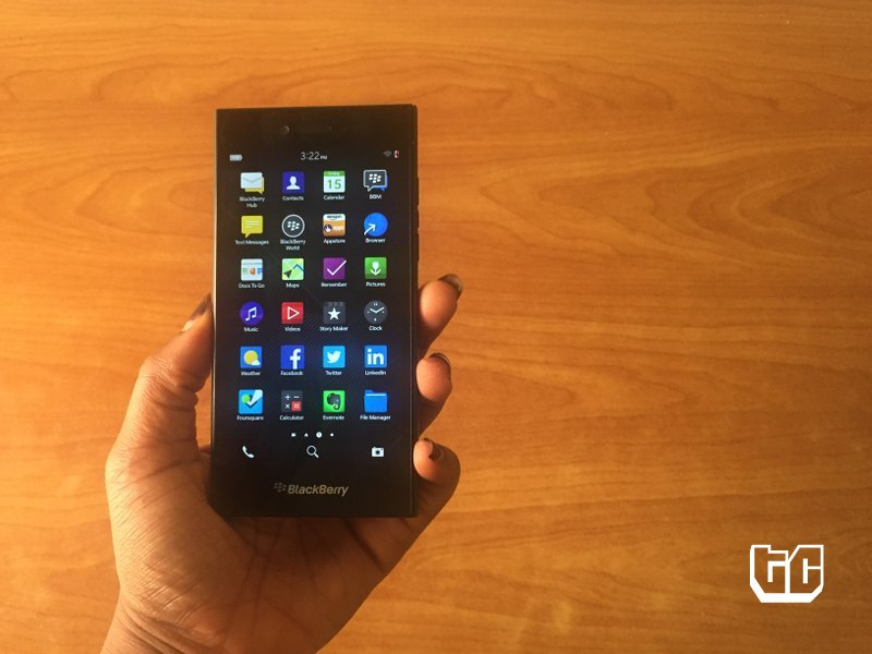 Blackberry Leap Unboxing and First Impressions: All Business and No Sass