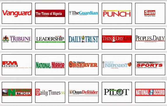 nigeria paper Online newspaper for nigeria, presents breaking local news, the top stories, business headlines and nigeria weather xml rss feeds, facility to add or be emailed nigeria news headlines.