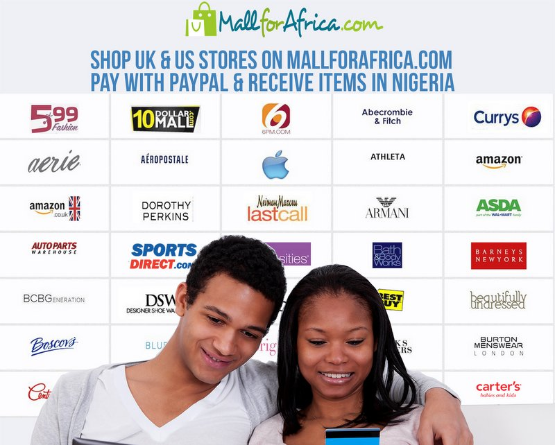 MallForAfrica integrates PayPal payments infrastructure, also giving a $10 coupon for August orders