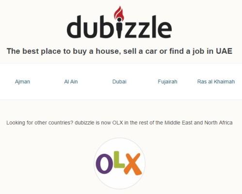 Dubizzle OLX
