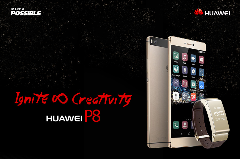 Creativity meets technology in the Huawei P8