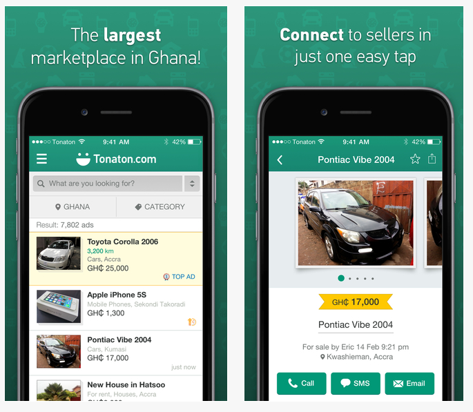 ef5343993d8eac Tonaton is Ghana s online marketplace with the widest selection of popular  second hand items all over Ghana. Sort of like OLX and Efritin in Nigeria.