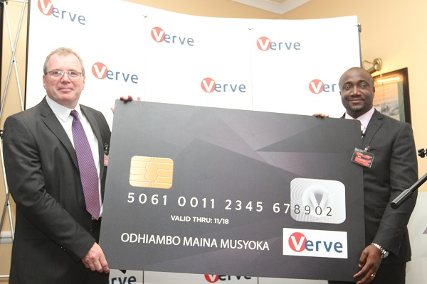 Charles Ifedi, Verve International CEO with Richard Coate Verve Country Manager (Kenya)