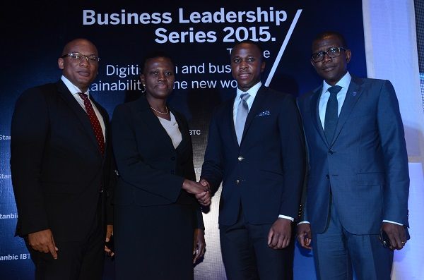 Stanbic IBTC's Business Leadership Series features Interswitch's CEO on Business Digitization