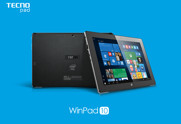Winning Combination! You and your TECNO WinPad10