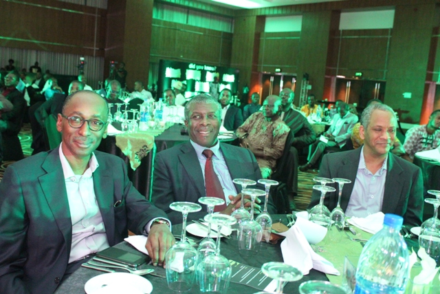 Vice President, Regulatory and Corporate Affairs, Etisalat Nigeria, Ibrahim Dikko with guests enjoying moments of the event