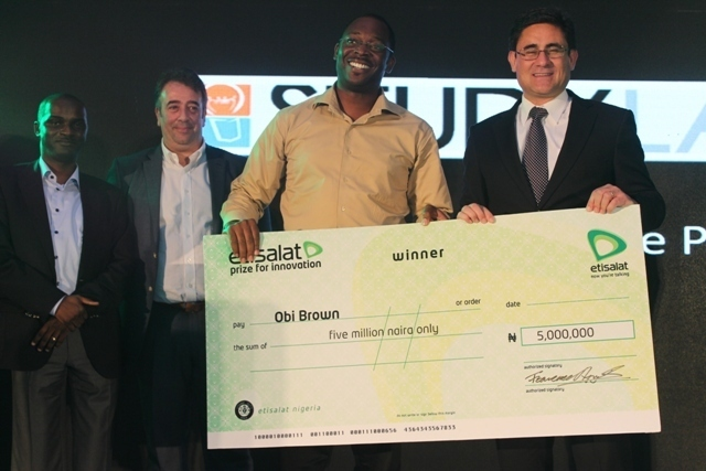 Prize for Innovation: Etisalat splashes N7 Million on Innovators
