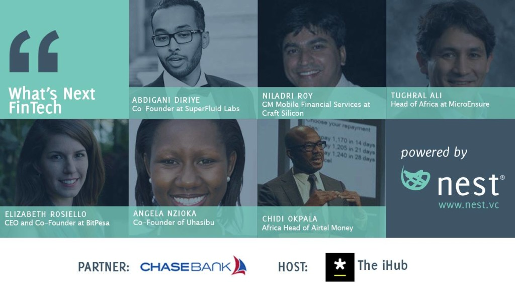 Nest To Hold Forum On Finance And Technology At Nairobi's iHub