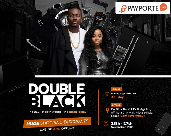 Payporte Announces Its Special Black Friday Sales #PayporteDoubleBlack