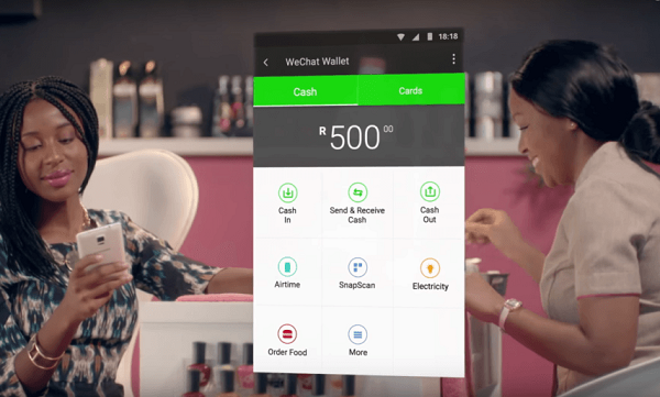 Nigerians will (very soon) be able to pay for stuff from inside WeChat